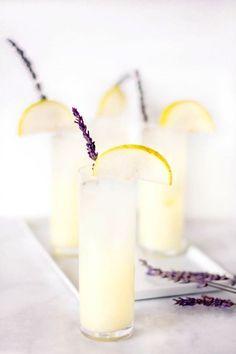 vodka pear lavender lemonade recipe - sugar & cloth