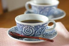 【砥部焼 千山窯】蛸唐草のコーヒーカップ Tableware, Dinnerware, Tablewares, Dishes, Place Settings