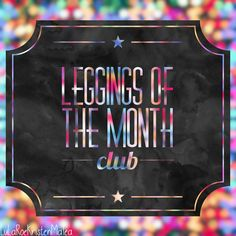 Want a pair of surprise LuLaRoe leggings sent to you every month? Sign up for the legging of the month club! I will absolutely take your preferences into consideration and do my best to choose a pair you will be happy with. Shipping is always free, and after 6 consecutive months, your next pair will be FREE! 1st 10 ladies to sign up get a special surprise with their first month's shipment!