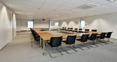 Conference room into the premises of Stanley B&D in Diegem, Belgium