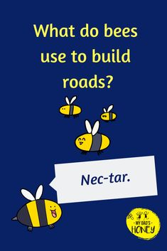 Joke Time! Let's have some BEE FUN! Don't forget to laugh! - #bees #beejokes #beehappy #jokes #fun #laugh #MyDadsHoney Kid Jokes, Clean Funny Jokes, Jokes And Riddles, Funny Jokes For Kids, Corny Jokes, Bee Quotes, Funny Quotes, Grandchildren, Grandkids