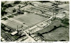 The GEC plant at Copsewood, Coventry Coventry, Old Things, Louvre, Street, Building, Plants, Travel, Image, Construction