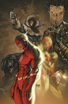 The Flash's Rogues Gorilla Grodd. Zoom. Captain Cold. Weather Wizard. RagDoll. By: Michael Turner