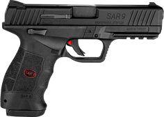SAR USA Sar 9 - 9mm polymer Striker-fired pistol from Turkey.