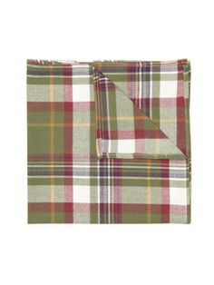 Nick Point Tartan Plaid Pocket Square