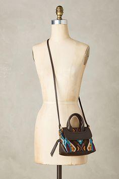 Embroidered Virginia Mini Shoulder Bag