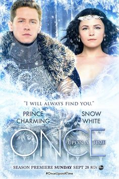 Once Upon a Time, Season 4 includes FROZEN: Snow White and Prince Charming. Once Upon a Time, ABC - + copy Disney. Snow And Charming, Prince Charming, Abc Tv Shows, Movies And Tv Shows, Once Upon A Time, Josh Dallas, Fantasy Tv, Fantasy Series, Ginnifer Goodwin
