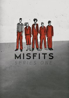 MISFITS / Minimal TV Shows Posters  Design