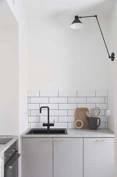 Extra small scandinavian kitchen by Minna Jones