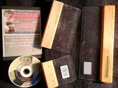 Ann. Escondido. CA. Thank you for your purchase your comb tools and free DVD are on their way to you. We would love to see pictures of your finished drywall art ceilings & walls. Regards, Dale (lookreadlearn.com)