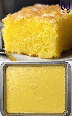 Lemon Dessert Recipes, Cake Mix Recipes, Pound Cake Recipes, Lemon Recipes, Delicious Desserts, Baking Recipes, Homemade Lemon Cake, Vegan Lemon Cake, Easy Lemon Cake