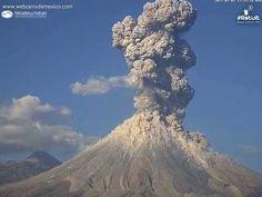 ❝ Una potente explosión del volcán de Colima es captada en video impresionante ❞ ↪ Vía: Entretenimiento y Noticias de Tecnología en proZesa