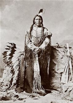 "Lakota: Tȟašúŋke Witkó  -   ""His-Horse-Is-Crazy"" or ""His-Horse-Is-Spirited""  ca 1840 - September 5, 1877"