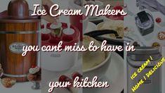 best ice cream maker 2020 for making top quality and best ice cream at home easily in these quality ice cream machines. all ice cream makers questions answered here Ice Cream At Home, Make Ice Cream, Homemade Ice Cream, Commercial Ice Cream Maker, Best Ice Cream Maker, Ice Cream Ingredients, Holiday Deals, Frozen Yogurt