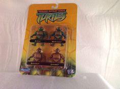 New Teenage Mutant Ninja Turtles Miniature Action Figures 2002 Edition