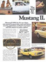 Ford Mustang II 2+2 Stallion 1975 Ad Picture