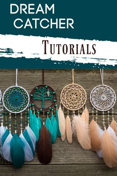 Get step by step directions on how to make a dream catcher. Make one in an afternoon. Making Dream Catchers, Dream Catcher Decor, Large Dream Catcher, Dream Catcher Boho, Black Dream Catcher, Diy Arts And Crafts, Creative Crafts, Diy Crafts, Crochet Dreamcatcher