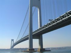 Verrazano-Narrows Bridge, Staten Island, New York City #NYC