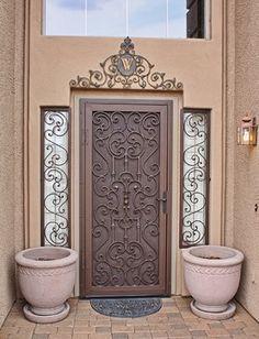 Security Screen Doors - mediterranean - screen doors - phoenix - First Impression Security Doors