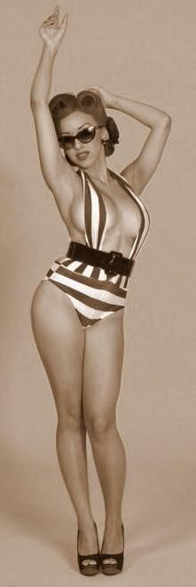 Ashley Marie Pin Up Vintage Style