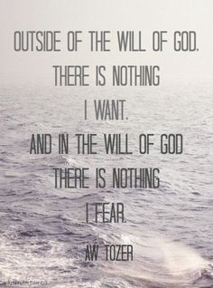 Quote by A. W. Tozer