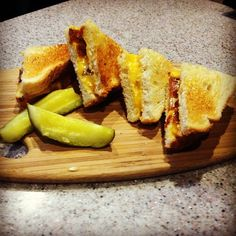 #Bacon #GrilledCheese #Bites. Available during #HappyHour! #Monday-#Thursday, 4-6pm. #longislandfoodie #drinklocal #eatlocal #deliciousness
