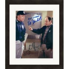 5bba7f4695b Autograph Warehouse 365231 8 x 10 in. Buck Showalter and Jason Alexander  Autographed Matted   Framed Photo - Seinfield NY Yankees George Costanza  Image No.