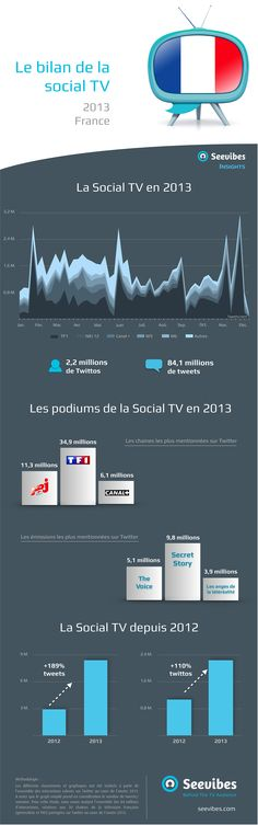La Social TV en France en 2013