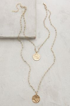 Oloron Layered Necklace by Heather Hawkins #anthrofave