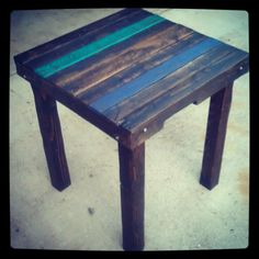 Pallet High Top Table
