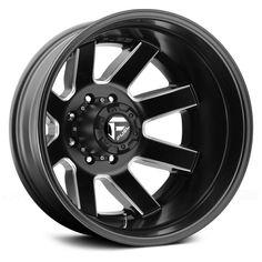 Fuel Maverick Dualie Rear 17x6.5 8x200 ET-140 Black Milled Mat Wheels (Set) · $1,320.00 Dually Rims, Dually Wheels, Aftermarket Wheels, Truck Wheels, Dodge Dually, Custom Wheels And Tires, Rims And Tires, Silverado 3500, Chevy Silverado