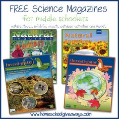 FREE Science Magazines for Middle Schoolers