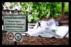 'Who cares' #munich #münchen #eisbach #surfing #munichsummer