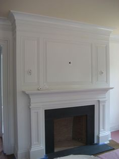 Raised Panel Fireplace Surround. | Fire place | Pinterest ...