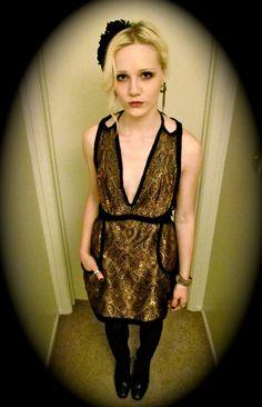 Rubik's Dress. $300.00, via Etsy.