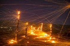 Terra Flamma: Stunning Long-Exposure Photographs of California Wildfires by Stuart Palley