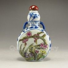 Hand-painted Chinese Snuff Bottle