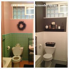 Large and Simple DIY Bathroom Remodeling & Makeover # Small Bathroom . - Inspirational Tattoos - Garden Landscaping - DIY Bathroom Decor - Different Hair Styles - DIY Silver Necklace Diy Bathroom Remodel, Diy Bathroom Decor, Bathroom Renovations, Home Renovation, Home Remodeling, Bathroom Ideas, Bathroom Makeovers, Modern Bathroom, Redo Bathroom