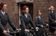 Call The Midwife played it for laughs as Miranda Hart came on boardMiranda Hart's cycling wobbles provided a welcome stretch of comic relief in Call The Midwife (Picture: BBC)