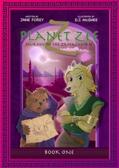 Planet Zee is a land of mystery, magic and strange creatures. Join Prince Fozzy on his adventure with his best friend Rottie to capture Mischief the Black. #planetzee #childrensbook