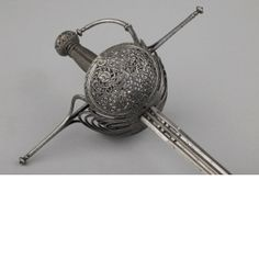 Rapier Spain probably 3rd quarter of 17th century Iron or steel, chiselled and pierced Length: 118 cm Width: 2.3 cm Weight: 1.13 kg