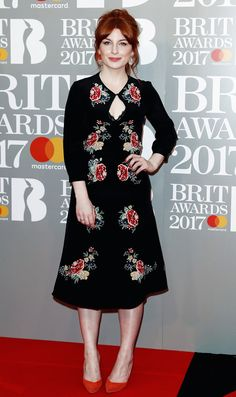 The 10 Red Carpet Looks You Need to See From the Brit Awards via @WhoWhatWearUK