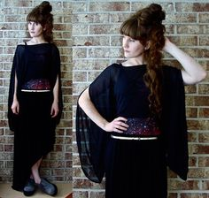 Black Milk Clothing Red Galaxy Swim, Sophia James State Of Flux Top, River Island Wrap Maxi Skirt, Asos Grey Creepers
