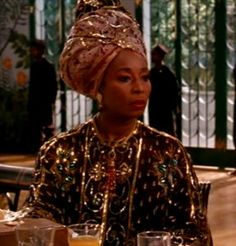 Throughout her 20-year Hollywood career, Jamaican actress Madge Sinclair never lost sight of her Caribbean identity. It was a similarity she shared with a famous cousin, pan-African giant Marcus Garvey.  She is depicted here as the Queen of Zamunda in Coming to America, but was also Belle in Roots.