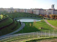 10 cosas positivas de vivir en Milán   | Vista de lago del Parco Portello de Milán.
