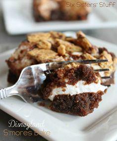 Disneyland S'mores Bake from SixSistersStuff.com