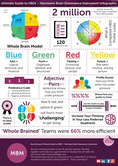 The Ultimate Guide to HBDI – Herrmann Brain Dominance Instrument Infographic