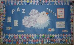 Cómo hacer un mural para el día de la paz