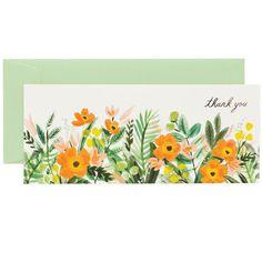 Honeydew Thank You Card