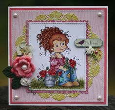 such a sweet image by Whimsy Stamps